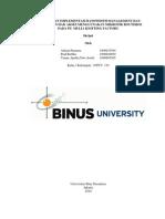Analisis Bandwidth Managemen