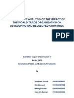 ITBOP - Impact of WTO Report