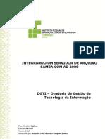 Procedimento Para Integrar SAMBA Com AD 2008