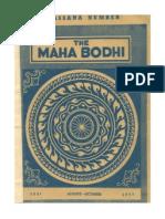 Maha Bodhi Journal 1977-08-10