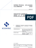 NTC ISO IEC 27001