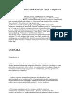 Deklaracja Upadku Demokracji w Chile 23 Sierpnia 1973