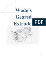 French Wades Geared Extruder Visual Instructions
