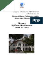 Ase Civilisation Brochure Licence De