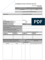 External Job Application Form