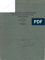 Wind Tunnel Interference on Wings, Bodies & Airscrews by Glauert 1933