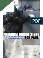 Freedom Under Seige ~ RonPaul (1988)