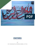 Enzymes Biochemistry by Dr. Mudassar Ali Roomi