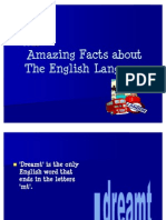 Amazing Facts About the English Language1