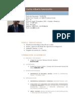 Curriculum Vitae Dr Carlos Iannizzotto