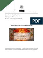Cuba. Analisis de la protección social httpwww.eclac.clmujerreunionesmesa38Cuba.pdf consultado 29