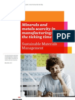 Minerals and Metals Scarcity in Manufacturing the Ticking Time Bomb