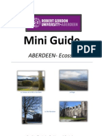 Mini Guide RGU Aberdeen