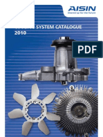 Aisin Cooling System Catalogue 2010
