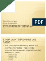 Clase 9.0 - Unidad 1 - Integridad Referencial