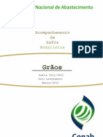 GRÃOS boletim CONAB marco 2012