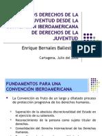 Derechos de los Jovenes desde la Convención Iberoamericana de Derechos de los Jóvenes