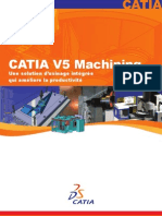 Catia v5 Machining Brochure Fr