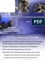 2012 Excellence.gov Awards, DOD CIO Teri Takai