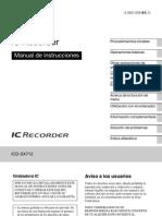 ICD-SX712 Spanish 61