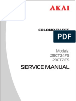 Akai 29CT24FS Service Manual