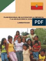 Plan Regional de Acción Por La Infancia y Adolescencia - Parte1