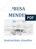 Prusa Mendel Visual Instructions FRENCH