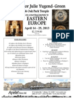 flyer and itinerary feb  15 2012