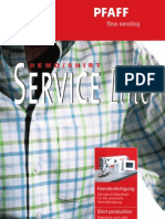 Pfaff Service Line Shirts
