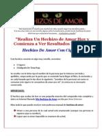 Hechizos De Amor Efectivos - Amarres Caseros