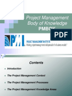 Project Management Body of Knowledge -Petar Jovanovic