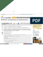 Stack Overflow Com Questions 709234 ASP Net Mvc Set Selected