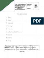 ADT-PR-370-011 Traslado y Almacenamiento de Medicamentos Control Especial entre Bodegas