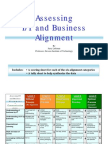 Assessing Business-it Alignment Maturity0