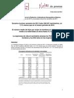 Nota de Prensa (Ine)2010