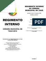 REGIMENTO INTERNO - 2012