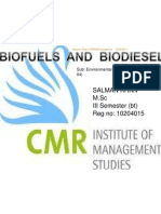 Biofuel and Biodiesel