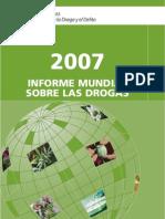 Informe Mundial de Drogas 2007 ONU