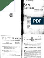 Loto Blanco Junio 1931