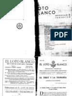 Loto Blanco Abril 1931