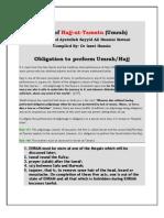 Rules of Umrah & Hajj