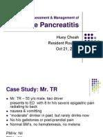 Case Study Sample PANC