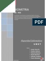 Seguridad a - Biometria de Voz