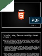 El HTML5