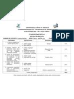 planificacion semestral UBV