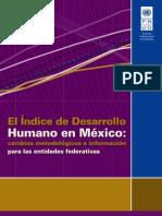 Informe de la ONU sobre Índice de Desarrollo Humano en México