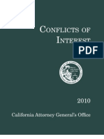 Conflict of Interest State