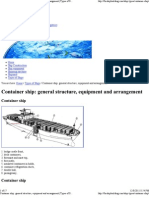 Container Ship_ General Structure, Equipment and Arrangement _ Types of Ships _ Dictionary Picture
