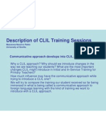 CLIL Training of Primary Teachers - Spain