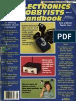 Popular Electronics Electronic Hobbyists Handbook 1989